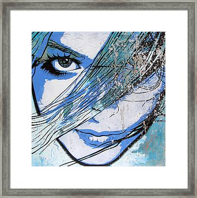 You Can't Quit Me Baby Framed Print by Bobby Zeik
