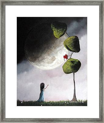 You Come Down Here Right Now By Shawna Erback Framed Print by Shawna Erback