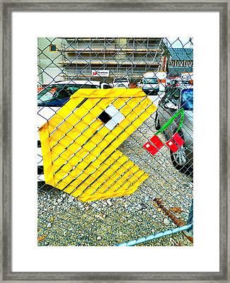 You Could Be Next  Framed Print by Steve Taylor
