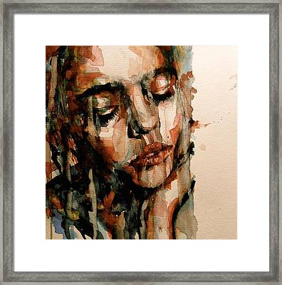You Ditch It All To Stay Alive A Thousand Kisses Deep Framed Print by Paul Lovering
