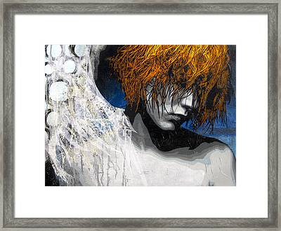 You Had Me At Goodbye Version Framed Print by Bobby Zeik
