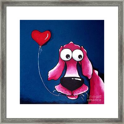 You Have My Heart Framed Print by Lucia Stewart