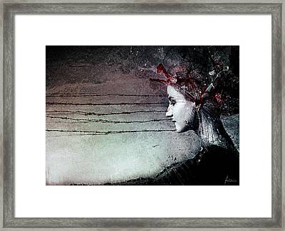 You Promised Me A Symphony Framed Print by Mario Sanchez Nevado