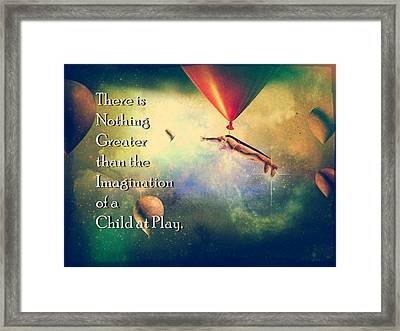 You Will Believe Framed Print by James Barnes