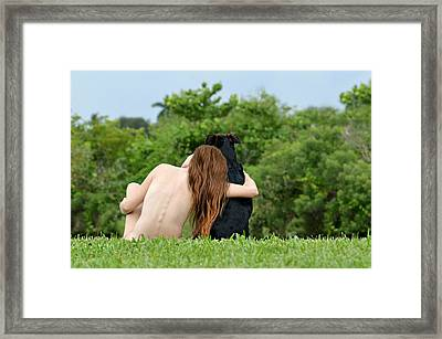 Young Earth Framed Print by Laura Fasulo