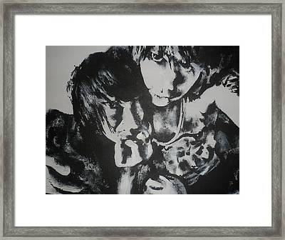 Young Lovers Framed Print by Cherise Foster