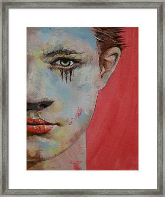 Young Mercury Framed Print by Michael Creese