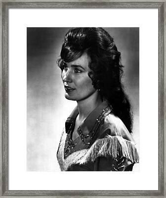 Younger Loretta Lynn Framed Print by Retro Images Archive