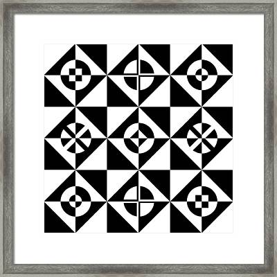 Your Move Framed Print by Mike McGlothlen