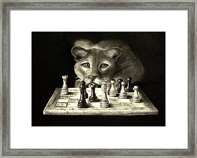 Your Move Framed Print by Steve Ellenburg