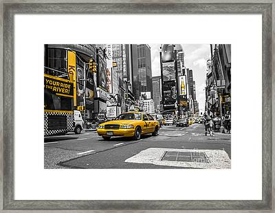 Your Ride - Ck  Framed Print by Hannes Cmarits