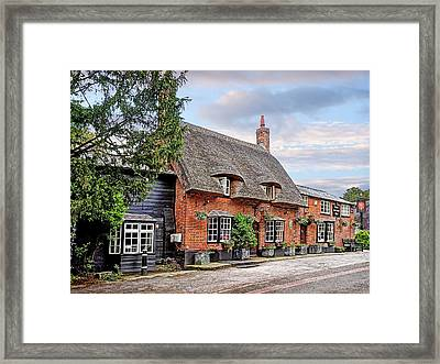 Your Shout - Axe And Compasses Pub Framed Print by Gill Billington