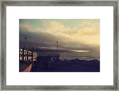 You're A Force Of Nature Framed Print by Laurie Search