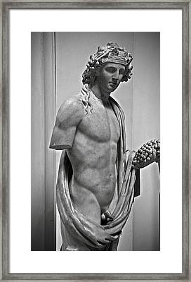 Youthful Dionysus Framed Print by RicardMN Photography