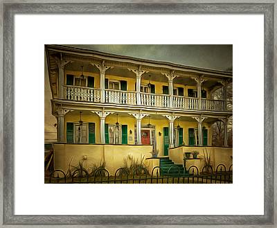 Ypsilanti's Grand Old Dames And Lovely Ladies #1 Framed Print by MJ Olsen