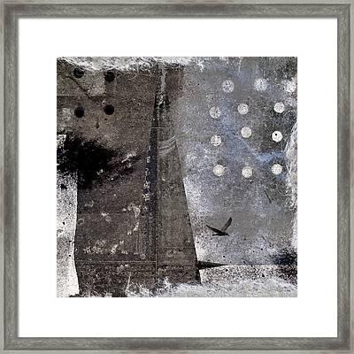 Yuki Desu  It Is Snowing Framed Print by Carol Leigh