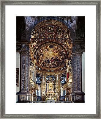 Zaccagni Giovan Francesco, Church Framed Print by Everett