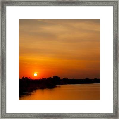 Zambezi Light Framed Print by Alistair Lyne