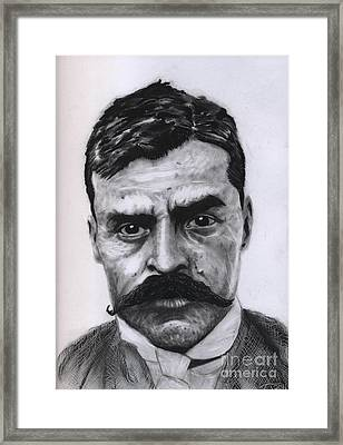 Zapata Framed Print by Alejandro Fonck