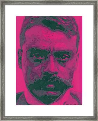 Zapata Intenso Framed Print by Roberto Valdes Sanchez
