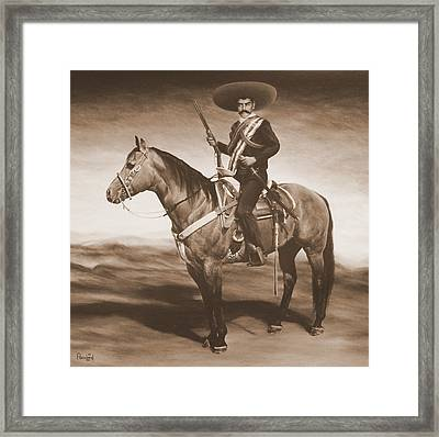 Zapata Framed Print by Paco Leal