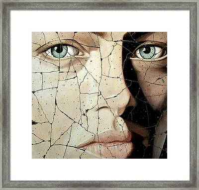 Zara - Study No. 1 Framed Print by Steve Bogdanoff