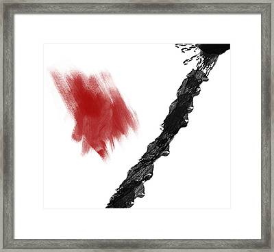Zeal Framed Print by Condor
