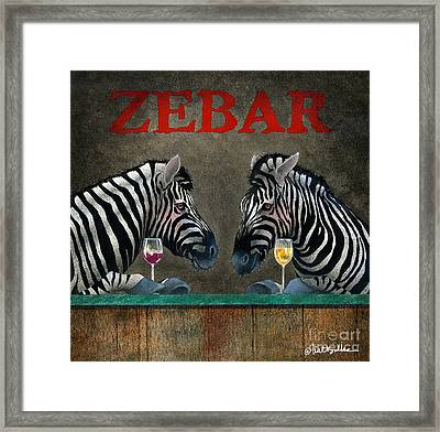 Zebar... Framed Print by Will Bullas