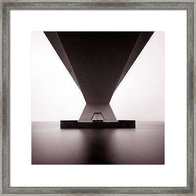 Zeelandbrug 1 Framed Print by Dave Bowman