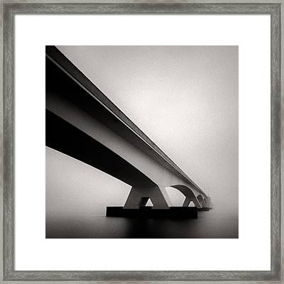 Zeelandbrug 2 Framed Print by Dave Bowman