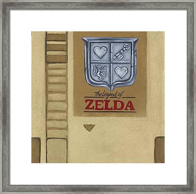 Zelda Framed Print by Travis Radcliffe