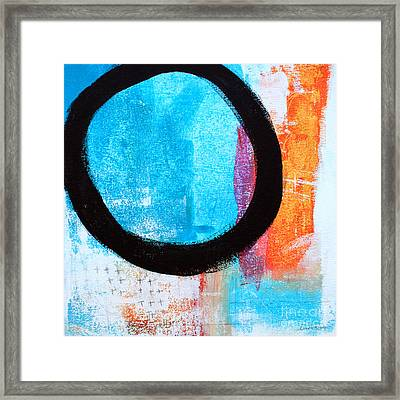 Zen Abstract #32 Framed Print by Linda Woods