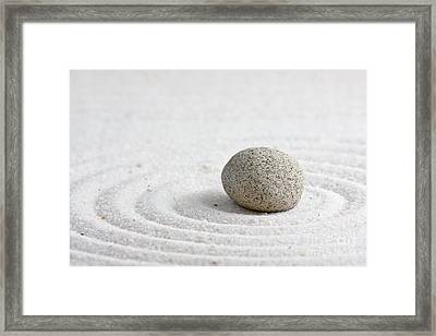 Zen Garden Framed Print by Shawn Hempel