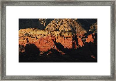 Zen Moment In Sedona Framed Print by Todd Sherlock