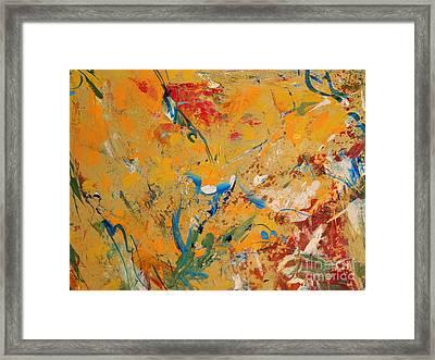 Zen  Framed Print by Nancy Kane Chapman