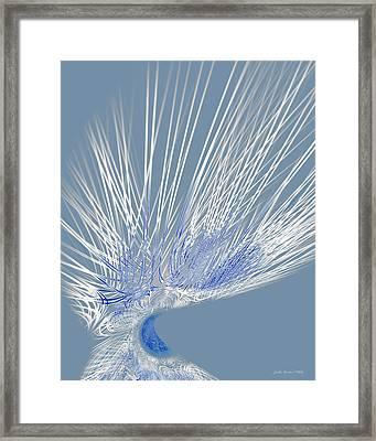 Zephyr Framed Print by Judi Suni Hall