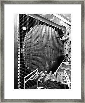 Zero Power Plutonium Reactor Framed Print by Argonne National Laboratory, Courtesy Emilio Segre Visual Archives, Physics Today Collection/american Institute Of Physics