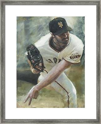 Zito Delivery Framed Print by Darren Kerr