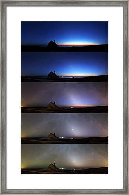 Zodiacal Light Framed Print by Laurent Laveder