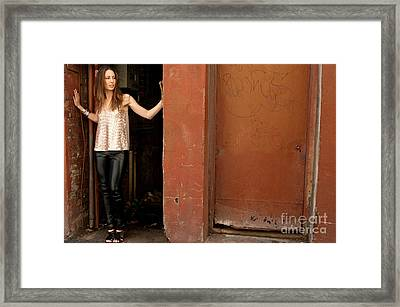 Zoe 08 Framed Print by Rick Piper Photography
