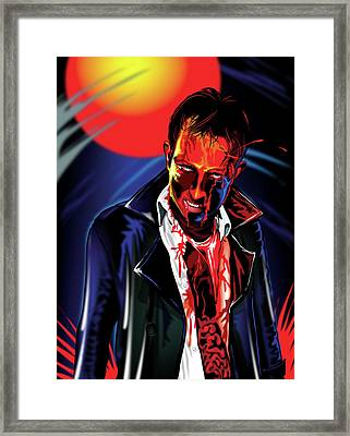 Zombie Rezurrection Framed Print by Brian Gibbs