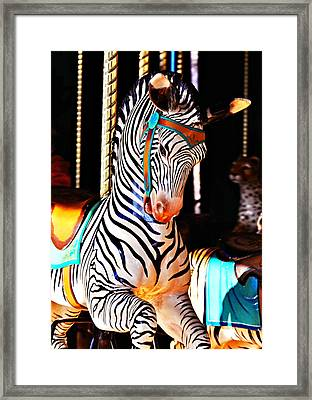 Zoo Animals 3 Framed Print by Marty Koch