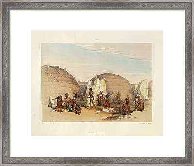 Zulu Kraal Framed Print by British Library