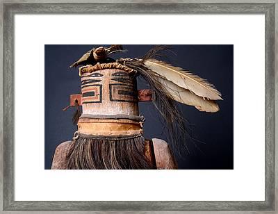 Zuni Katsina Framed Print by Joe Kozlowski