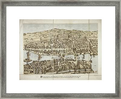 Zurich Framed Print by British Library