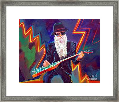 Zz Top 3 Framed Print by To-Tam Gerwe