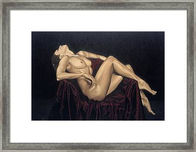 Exquisite Framed Print by Richard Young