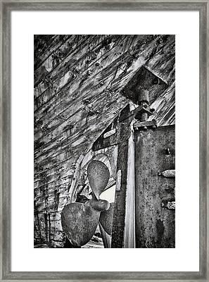 Boat Propeller Framed Print by Stelios Kleanthous