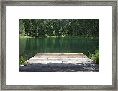 Äntu Great Lake In Estonia Framed Print by Jaak Nilson