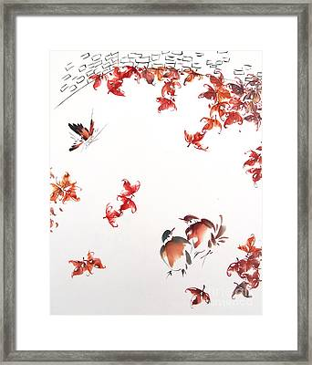 Fall Sensation Framed Print by Ming Yeung